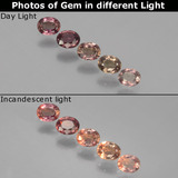 thumb image of 1ct Oval Facet Multicolor Color-Change Sapphire (ID: 403799)