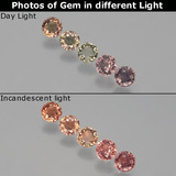 thumb image of 1.9ct Round Facet Multicolor Color-Change Sapphire (ID: 403806)