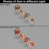 thumb image of 1.1ct Round Facet Multicolor Color-Change Sapphire (ID: 404026)