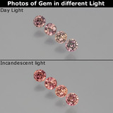 thumb image of 0.7ct Round Facet Violet to Red Color-Change Sapphire (ID: 404027)