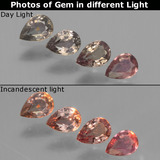 thumb image of 0.7ct Pear Facet Violet to Red Color-Change Sapphire (ID: 441301)
