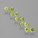 thumb image of 1.9ct Diamond-Cut Golden Green Demantoid Garnet (ID: 385432)