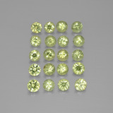 thumb image of 2.6ct Diamond-Cut Golden Green Demantoid Garnet (ID: 385524)