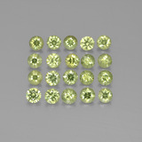 thumb image of 2.6ct Diamond-Cut Golden Green Demantoid Garnet (ID: 385525)