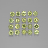 thumb image of 2.7ct Diamond-Cut Golden Green Demantoid Garnet (ID: 385527)