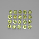 thumb image of 2.6ct Diamond-Cut Golden Green Demantoid Garnet (ID: 385529)