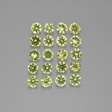 thumb image of 2.2ct Diamond-Cut Golden Green Demantoid Garnet (ID: 385530)