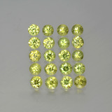 thumb image of 2.9ct Diamond-Cut Golden Green Demantoid Garnet (ID: 385641)