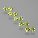 thumb image of 1.4ct Diamond-Cut Golden Green Demantoid Garnet (ID: 385838)