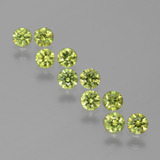 thumb image of 1.5ct Diamond-Cut Golden Green Demantoid Garnet (ID: 385842)