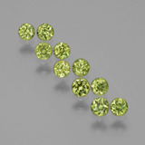 thumb image of 1.3ct Diamond-Cut Golden Green Demantoid Garnet (ID: 385846)