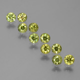 thumb image of 1.9ct Diamond-Cut Golden Green Demantoid Garnet (ID: 386096)