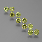 thumb image of 1.7ct Diamond-Cut Golden Green Demantoid Garnet (ID: 386099)