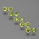 thumb image of 1.2ct Diamond-Cut Golden Green Demantoid Garnet (ID: 386235)