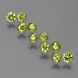 thumb image of 1.5ct Diamond-Cut Golden Green Demantoid Garnet (ID: 386238)
