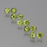 thumb image of 1.4ct Diamond-Cut Golden Green Demantoid Garnet (ID: 386394)