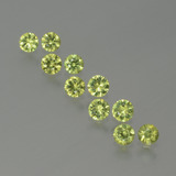 thumb image of 1.3ct Diamond-Cut Golden Green Demantoid Garnet (ID: 386636)