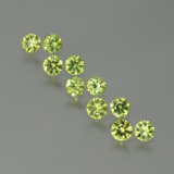thumb image of 1.2ct Diamond-Cut Golden Green Demantoid Garnet (ID: 386640)