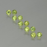 thumb image of 1.5ct Diamond-Cut Golden Green Demantoid Garnet (ID: 386641)