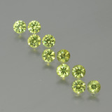 thumb image of 1.9ct Diamond-Cut Golden Green Demantoid Garnet (ID: 386642)