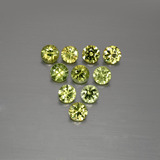 thumb image of 1.5ct Diamond-Cut Golden Green Demantoid Garnet (ID: 386832)
