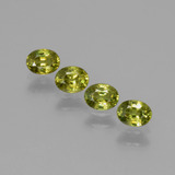 thumb image of 1ct Oval Facet Golden Green Demantoid Garnet (ID: 387787)