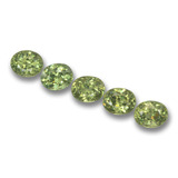 thumb image of 1.9ct Ovale facette Golden Green Grenat Démantoïde (ID: 458476)