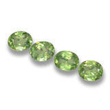 thumb image of 0.4ct Oval Facet Green Demantoid Garnet (ID: 461508)
