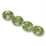 thumb image of 1.7ct Oval Facet Green Demantoid Garnet (ID: 461710)