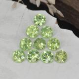 thumb image of 1.4ct Diamond-Cut Golden Green Demantoid Garnet (ID: 468969)