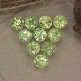 thumb image of 1.3ct Diamond-Cut Golden Green Demantoid Garnet (ID: 468975)