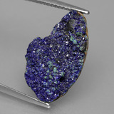 thumb image of 7ct Fancy Crystal Cluster Blue Druzy Azurite (ID: 433641)