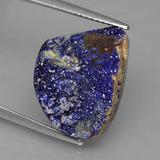 thumb image of 13.9ct Fancy Crystal Cluster Blue Druzy Azurite (ID: 433644)
