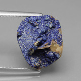 thumb image of 6.5ct Fancy Crystal Cluster Blue Druzy Azurite (ID: 434190)