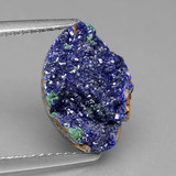 thumb image of 3.9ct Fancy Crystal Cluster Blue Druzy Azurite (ID: 434198)