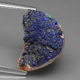 thumb image of 11.1ct Fancy Crystal Cluster Blue Druzy Azurite (ID: 434208)