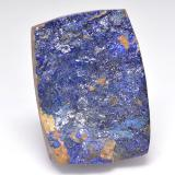 thumb image of 19.9ct Baguette Crystal Cluster Deep Navy Blue Druzy Azurite (ID: 529599)
