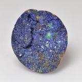 thumb image of 5ct Fancy Crystal Cluster Deep Navy Blue Druzy Azurite (ID: 529711)