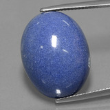 thumb image of 29.8ct Oval Cabochon Violet Blue Dumortierite Quartz (ID: 434148)