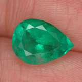thumb image of 2.2ct Pear Facet Green Emerald (ID: 285425)
