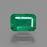 thumb image of 0.6ct Octagon Facet Green Emerald (ID: 291398)