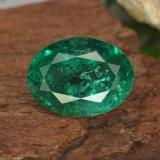 thumb image of 2.3ct Oval Facet Green Emerald (ID: 299251)