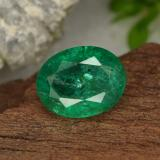 thumb image of 1.5ct Oval Facet Green Emerald (ID: 299259)
