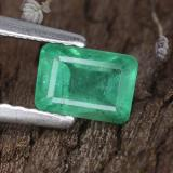thumb image of 0.7ct Octagon Step Cut Green Emerald (ID: 315501)