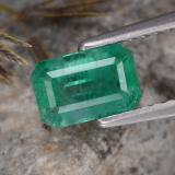thumb image of 0.8ct Octagon Step Cut Green Emerald (ID: 323632)