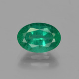 thumb image of 1.4ct Oval Facet Green Emerald (ID: 342005)