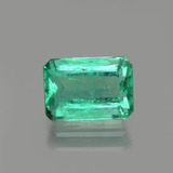 thumb image of 1.6ct Octagon Facet Green Emerald (ID: 380078)