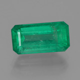 thumb image of 2.1ct Octagon Facet Green Emerald (ID: 380136)