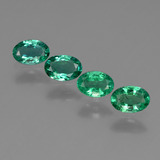 thumb image of 1.4ct Oval Facet Green Emerald (ID: 410084)