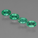 thumb image of 1.7ct Oval Facet Green Emerald (ID: 410086)